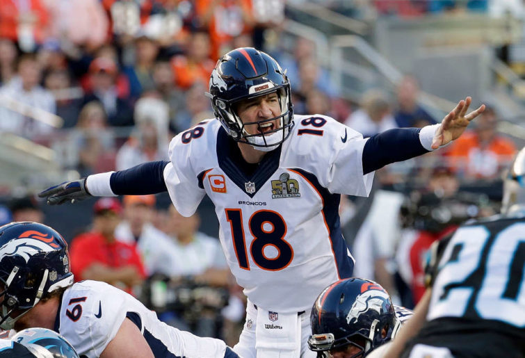 Denver Broncos' Peyton Manning