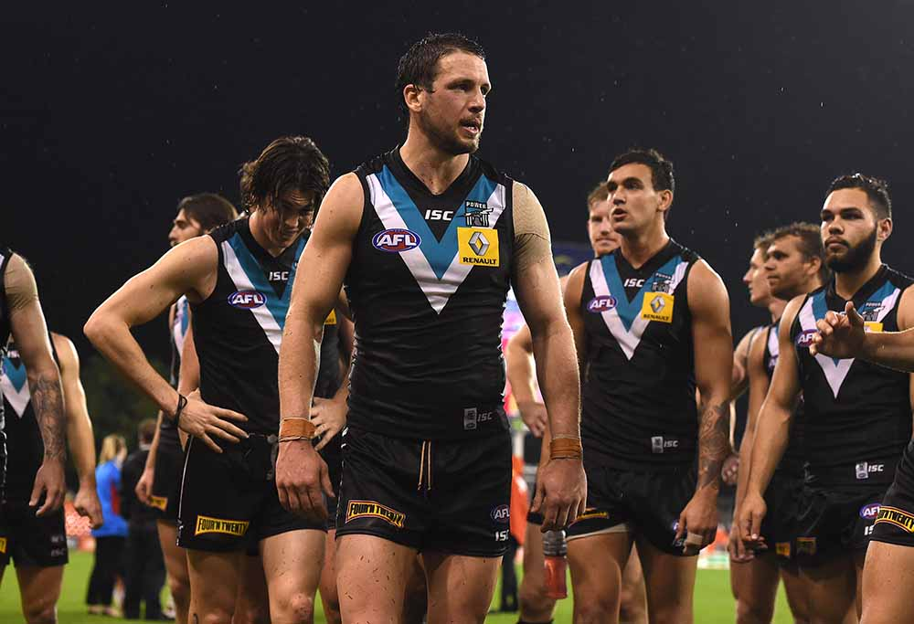 Port Adelaide Power walk off sadly