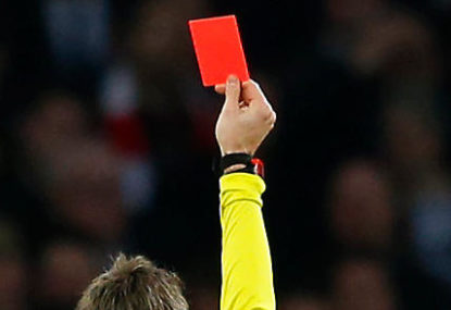 Red cards in AFL are a must