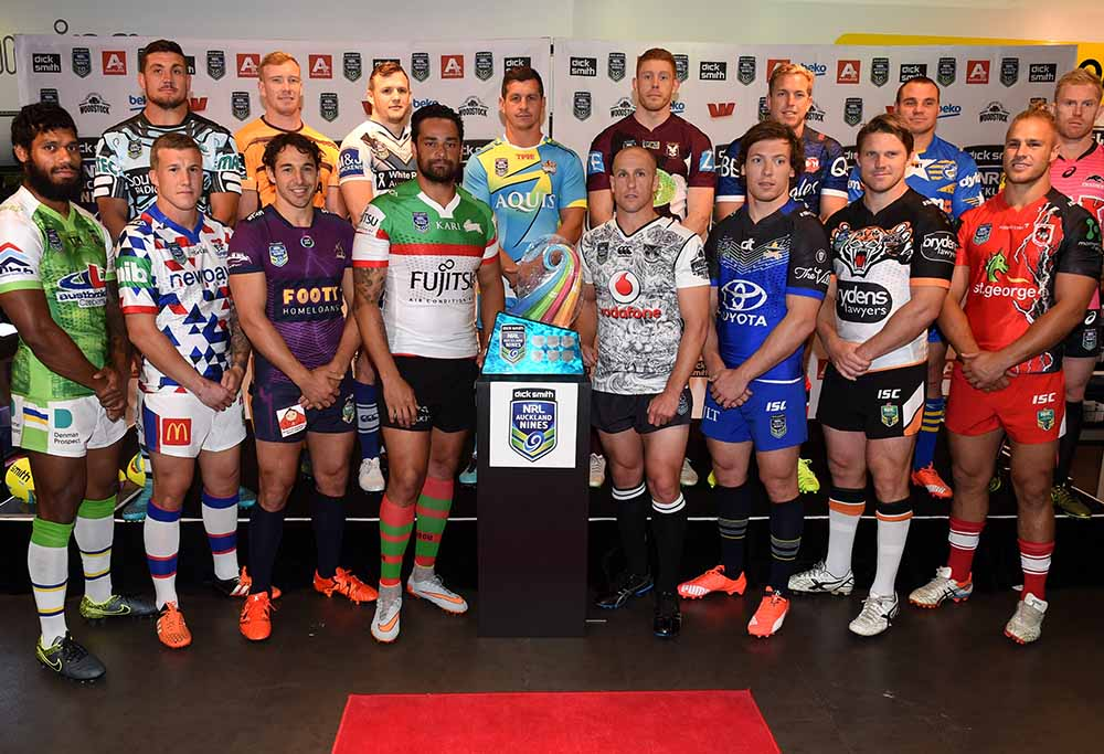 Auckland Nines captains