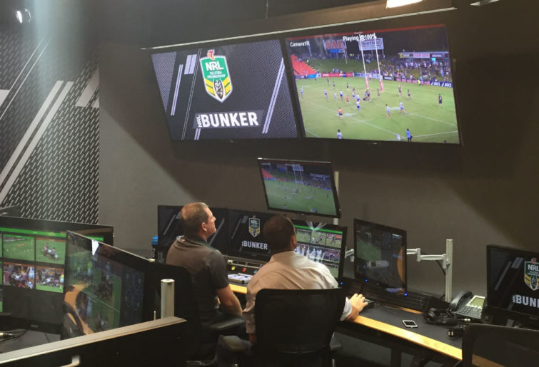 Two video refs in the NRL bunker