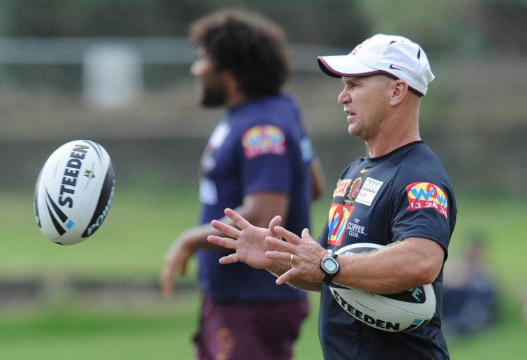 Brisbane Broncos coach Allan Langer