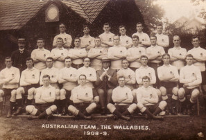 ANZAC DAY: Rugby men from the front