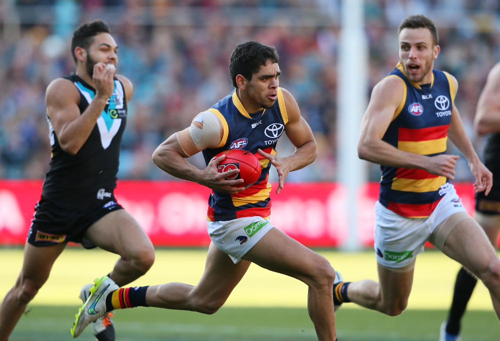Charlie Cameron Adelaide Crows Showdown AFL 2015