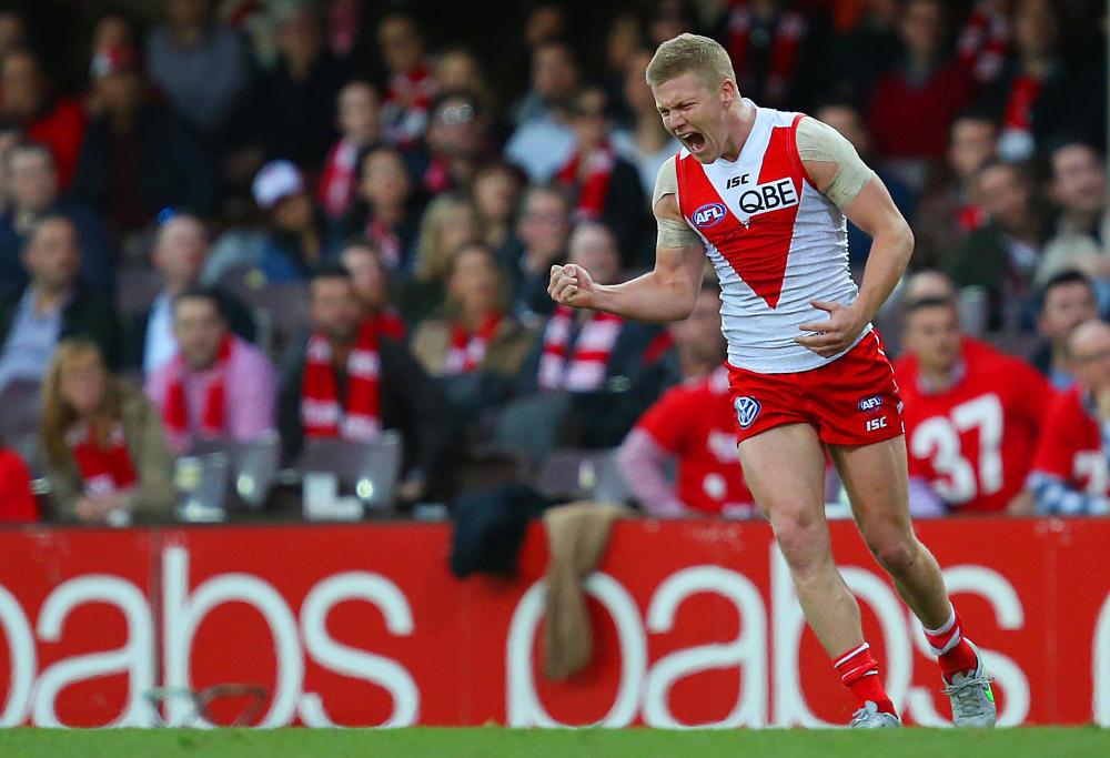 Dan Hannebery Sydney Swans AFL 2015