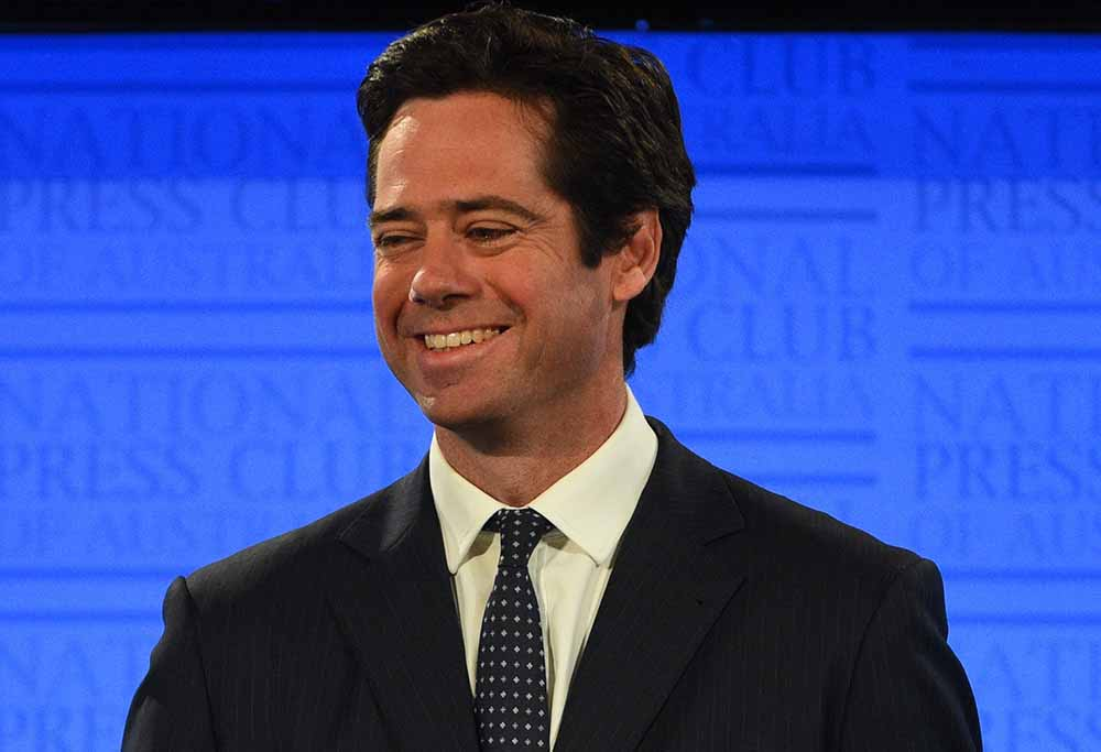 Gillon McLachlan press club speech