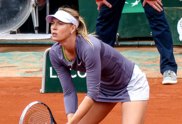 Maria Sharapova at Roland Garros