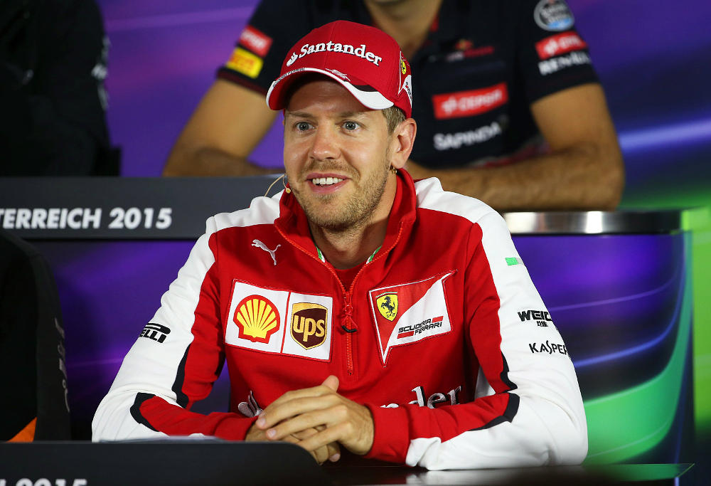 Sebastian Vettel press conference