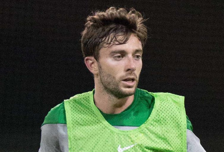 Tommy Oar trains with Socceroos