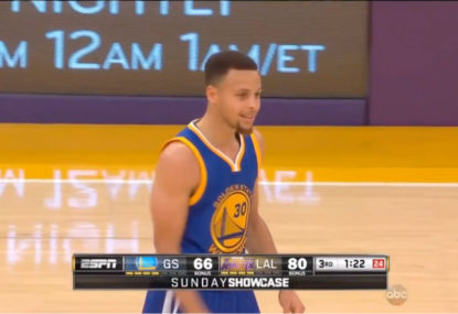 WATCH: Steph Curry plays his worst game of the season