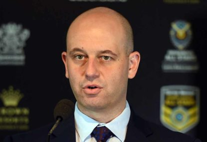 BREAKING: Todd Greenberg to wrestle live bear in new initiative to boost NRL crowds