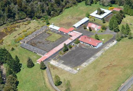 Waikune Prison aerial