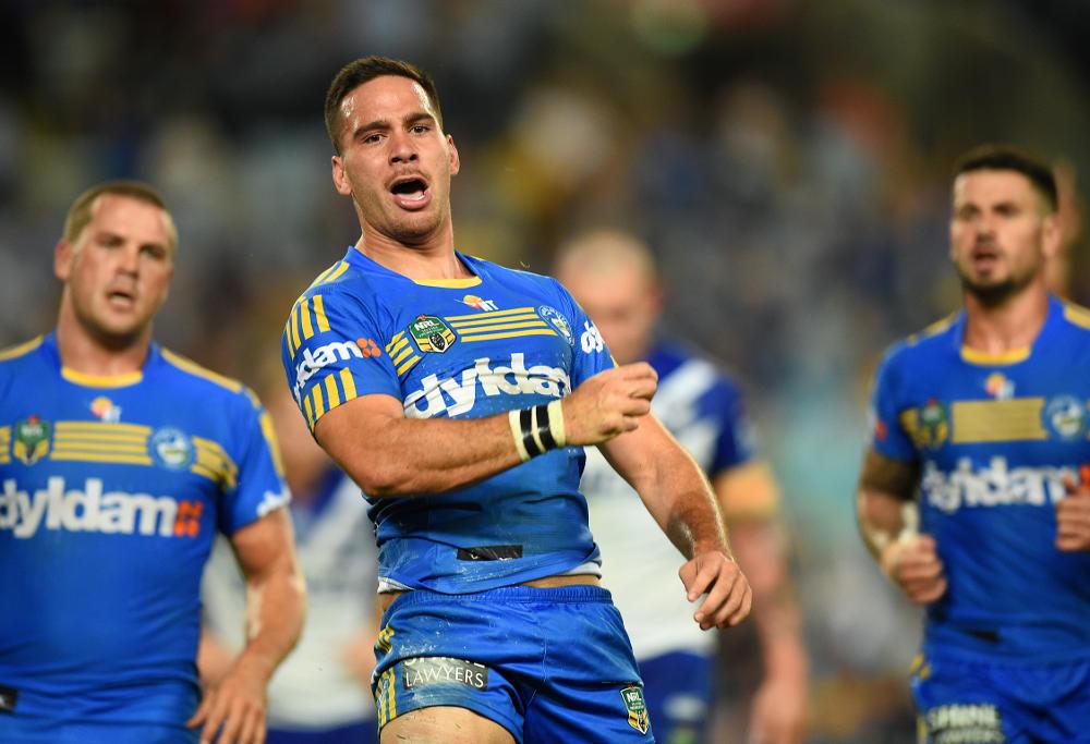 Corey Norman Parramatta Eels NRL 2016
