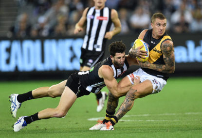 The Collingwood and Richmond trade war