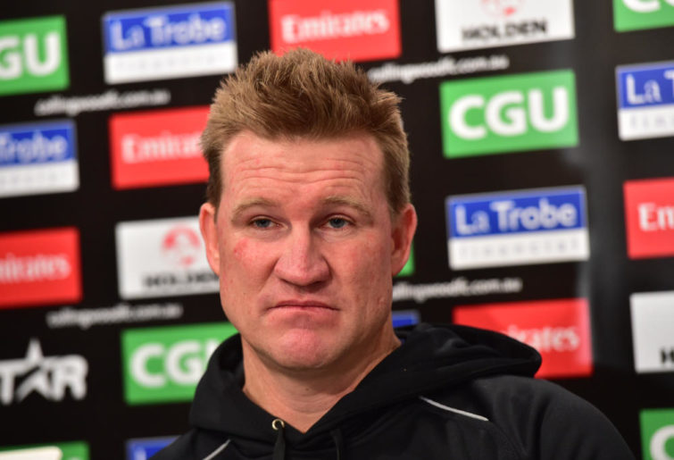 Nathan Buckley Collingwood Magpies AFL 2015