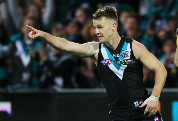 Robbie Gray Port Adelaide Power AFL 2015