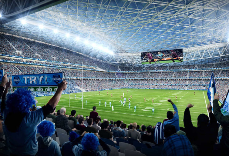 ANZ Stadium redevelopment