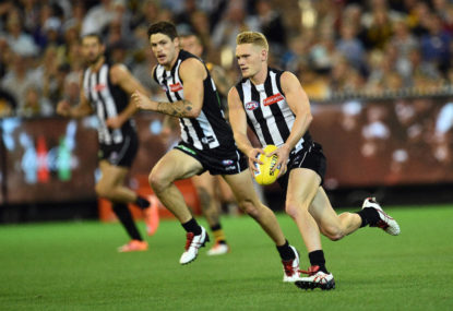 Collingwood Magpies vs Carlton Blues highlights: AFL live scores, blog