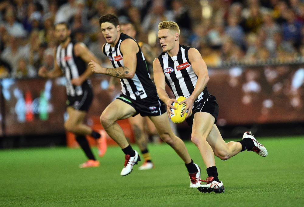 Adam Treloar Collingwood Magpies AFL 2016