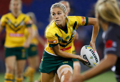 Jillaroos-Ferns was great! How about a women's league now?