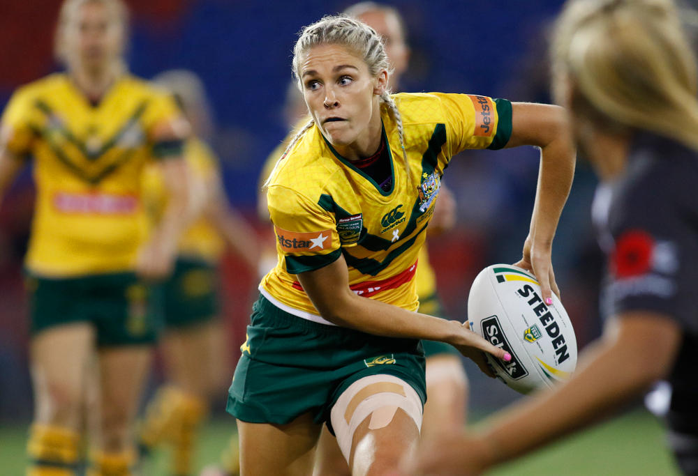 Allana Ferguson of the Jillaroos