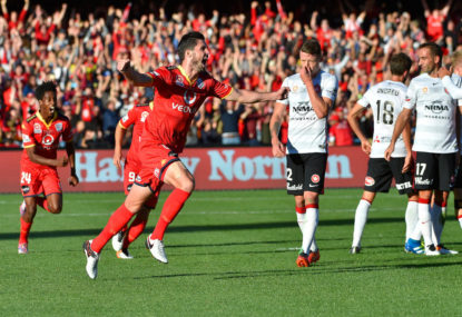 Adelaide United vs Western Sydney Wanderers: A-League live scores