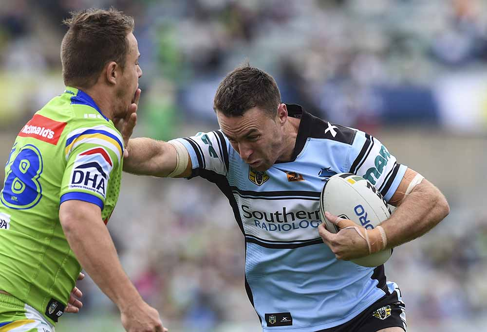 James Maloney of the Sharks