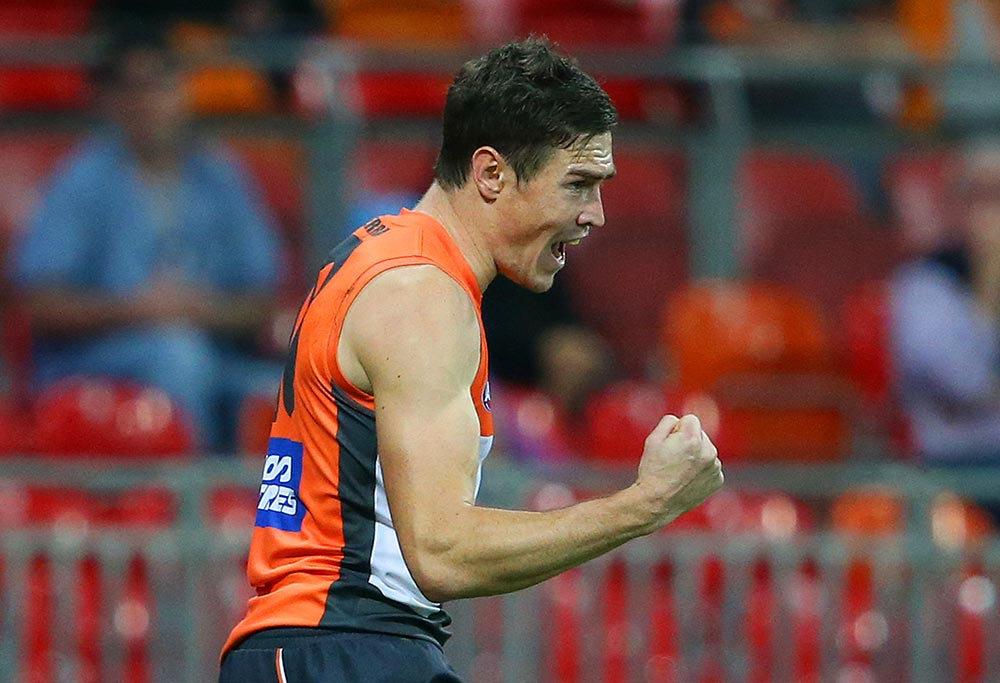 Jeremy Cameron of the GWS Giants