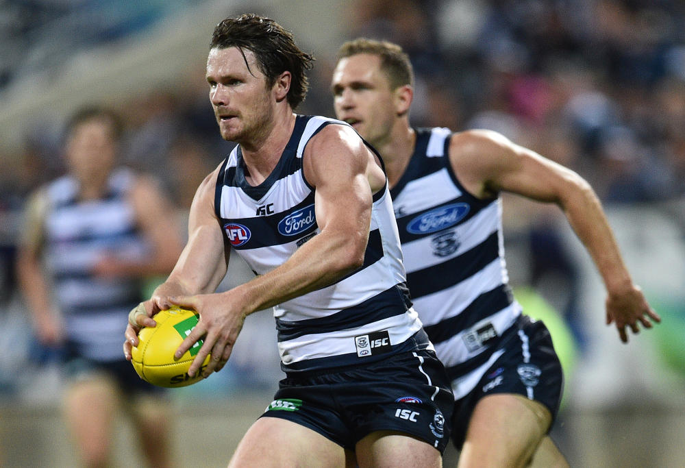 Patrick Dangerfield Geelong Cats AFL 2016
