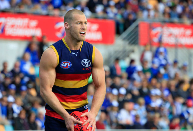 Scott Thompson Adelaide Crows AFL 2014