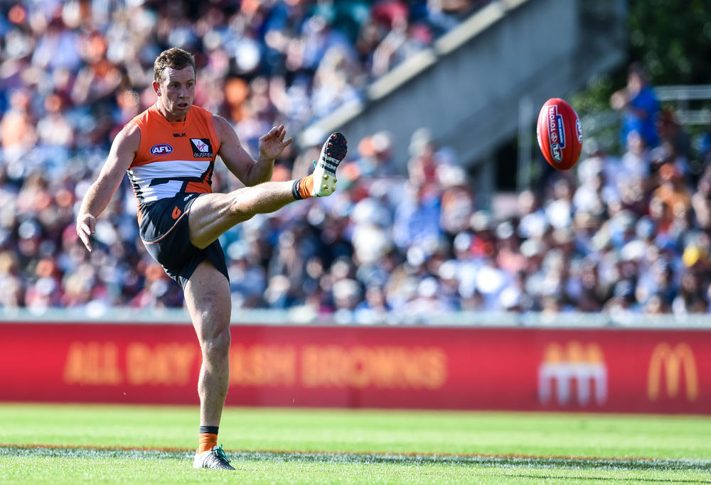 Steve Johnson GWS Giants Greater Western Sydney Giants AFL 2016