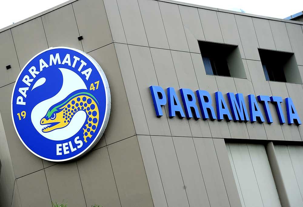 Parramatta Eels Rugby club signage