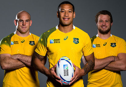 Wallaby squad for England (well a possibility at least!)