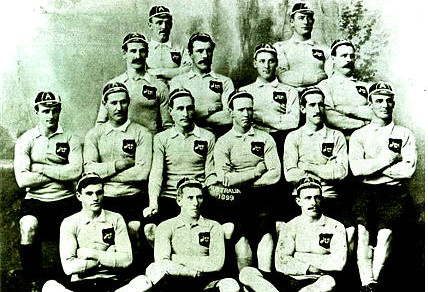 The 1899 Australian rugby team