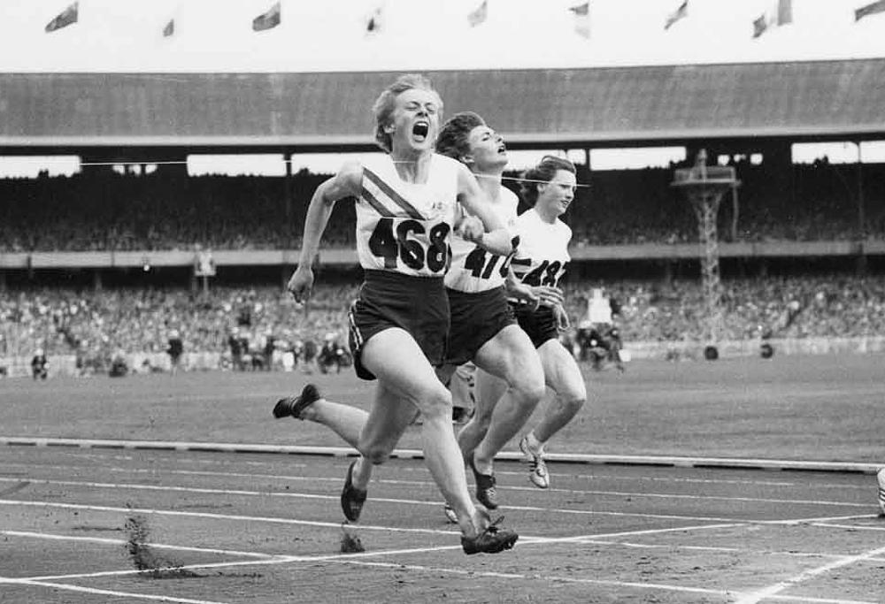 Betty Cuthbert 1956 Melbourne Olympics