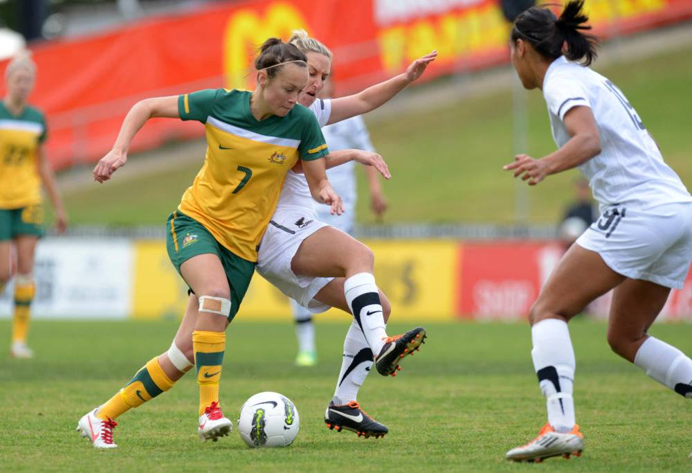 Caitlin Foord Australia Matildas Football 2012