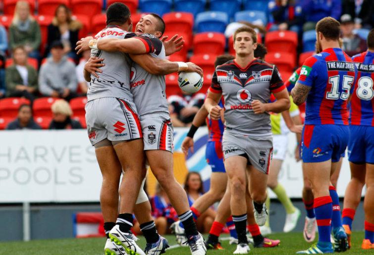 David Fusitu'a New Zealand Warriors NRL Rugby League 2016