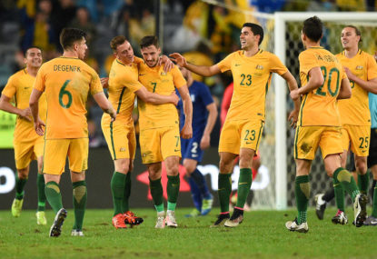 Leckie on the spot to fire Aussies to Asian Cup quarters
