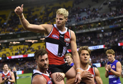 Memories from the legendary career of Nick Riewoldt