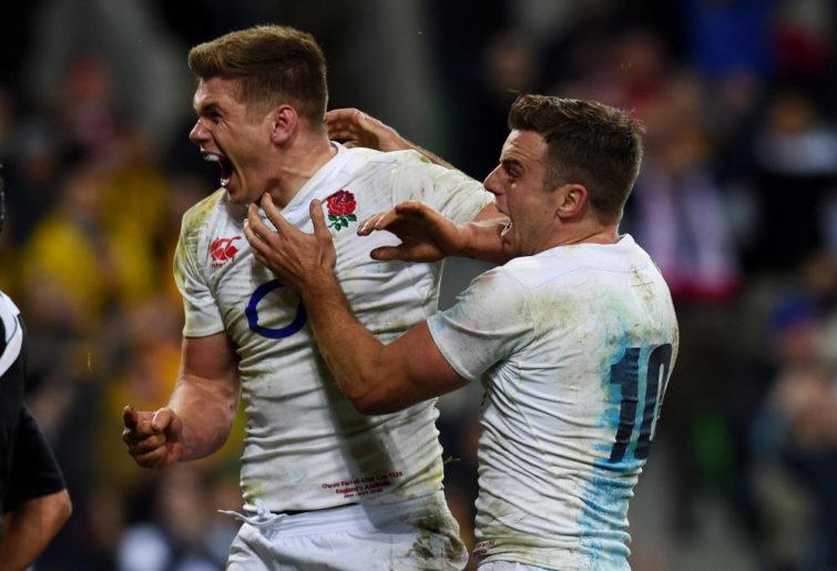 Owen Farrell England Rugby Union Test 2016