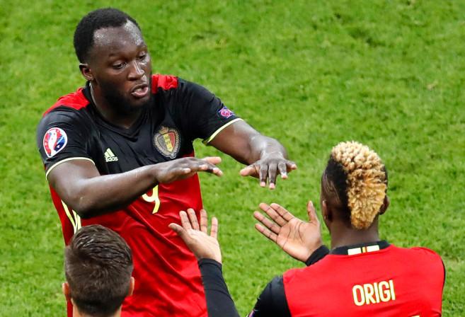 Romelu Lukaku Football Belgium Euro 2016