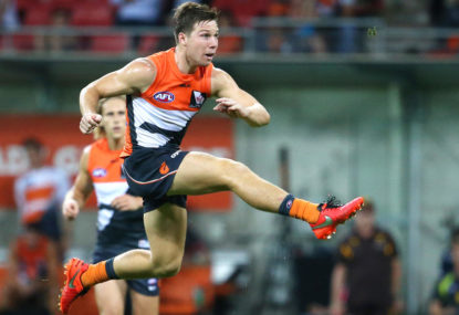 Toby Greene is our new AFL villain and all is well for now