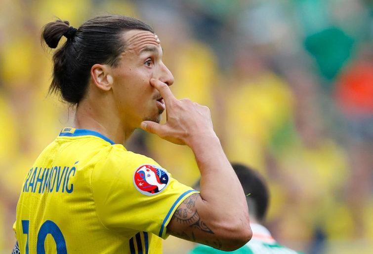 Zlatan Ibrahimovic Sweden Football Euro 2016