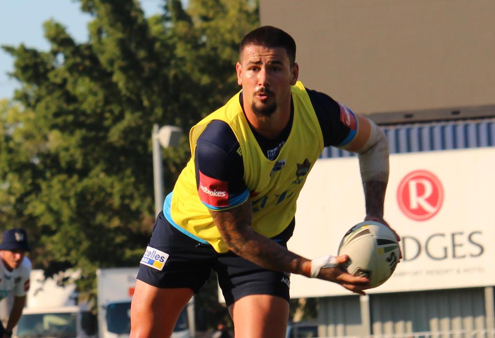 Gold Coast Titans player Nathan Peats