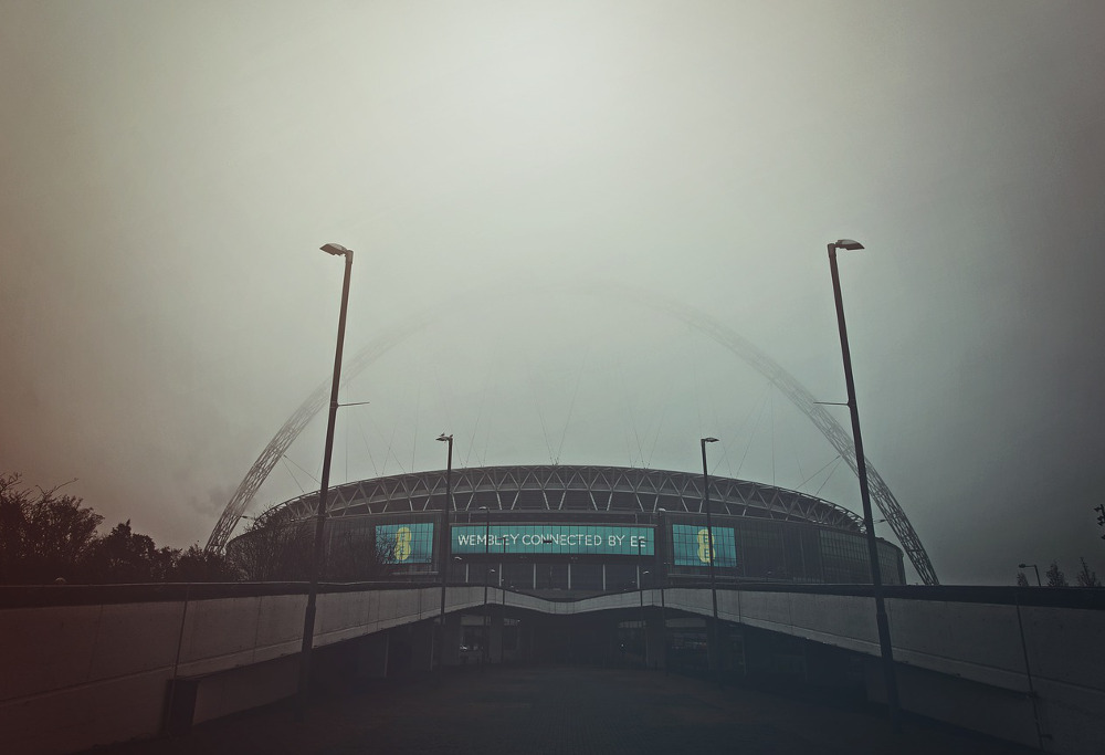 Wembley football stadium