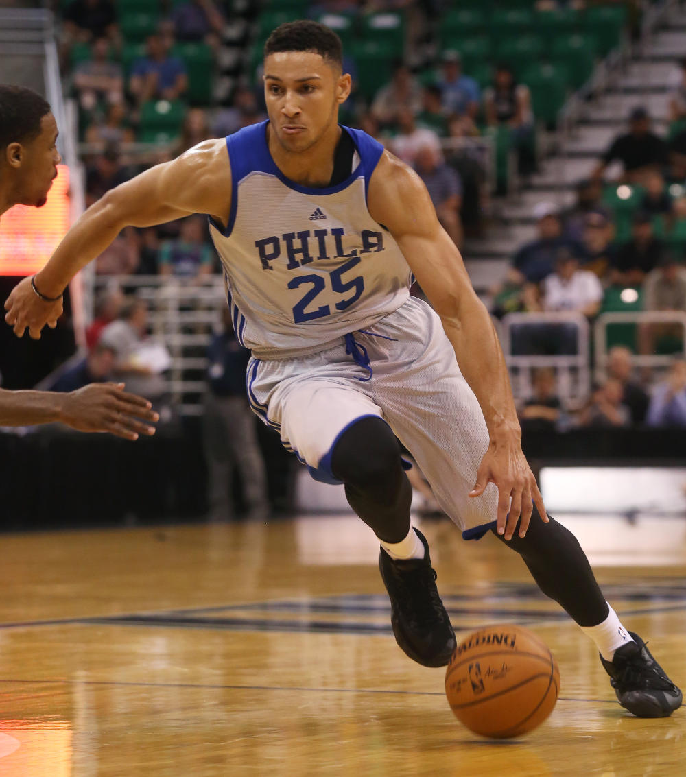 Ben Simmons in action