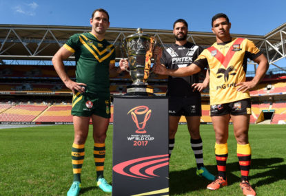 Here's how the PNG 2017 RLWC team could shape up