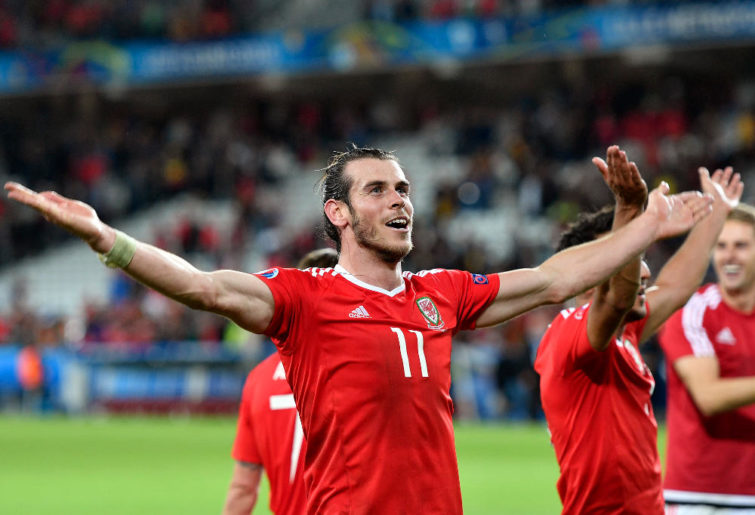 Gareth Bale Wales 2016 Euro 2016 Football