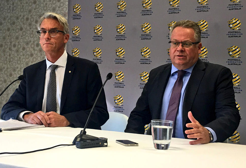 Greg O'Rourke David Gallop press conference