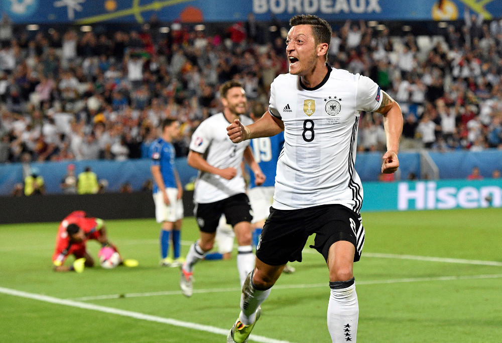 Mesut Ozil Germany Football Euro 2016